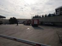 VATAN CADDESİ - Tuzla'da Korkutan Fabrika Yangını