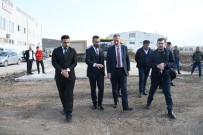 ALANYURT - İnegöl'de Beton Yol Uygulaması Devam Ediyor