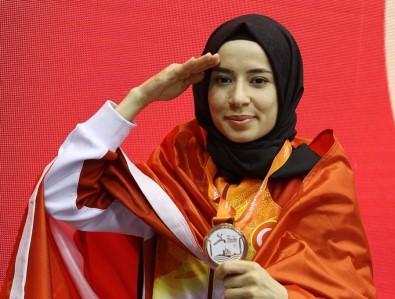 Kayseri'nin Altın Kızı Hayriye Türksoy Yarı Final Maçına Çıkacak