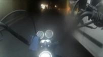 VATAN CADDESİ - (Özel) İstanbul'da Motosikletliler, Üzerilerine Direksiyonu Kıran Sürücülere Sert Tepki Gösterdi