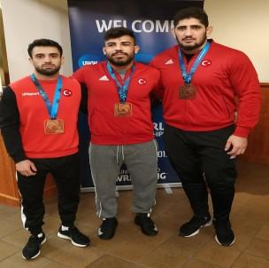 Millilerden Dünya Güreş Şampiyonası'nda 6 Madalya