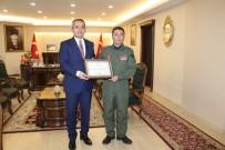TÜRK HAVA KURUMU - Türk Hava Kurumundan Kaymakam Ve Belediye Başkanına Teşekkür