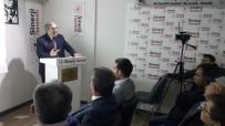 TARIH BILINCI - Ahmet Urfalı'dan 'Millî Mücadele Edebiyatı' Konferansı