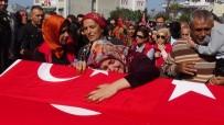ŞEHİT UZMAN ÇAVUŞ - Şehit Uzman Çavuş Suat Topçu, Son Yolculuğuna Uğurlandı