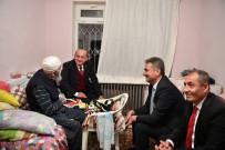 YEŞILBAYıR - Akdoğan Ve Köse'den Mamak'ta Ev Ziyareti
