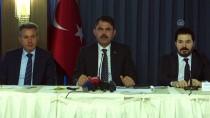 Bakan Kurum Ağrı'daki Projeleri Anlattı