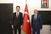 KADIR BOZKURT - Kaymakam Çimşir'den Başkan Bozkurt'a Ziyaret