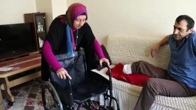 Mavi Kapak Toplayarak Engellilere Umut Oluyor