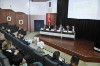 MÜFİT CAN SAÇINTI - Selçuk'ta 'Radyo, Televizyon Yayıncılığı Ve Telif' Paneli Yapıldı