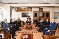 ALAY KOMUTANLIĞI - Vali Gürel'den Albay Başkök'e Ziyaret
