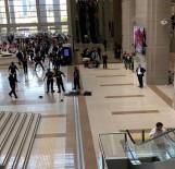 İBRAHIM ÖZKAN - İstanbul Adalet Sarayı'nda 6. Kattan Atlayan Şahıs Hayatını Kaybetti