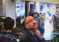 KUMKAPı - Fatih'te Ayakkabı Mağazasında Hırsızlık Kamerada