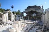Hilvan'da İlçe Kütüphanesi İnşaatı Sürüyor