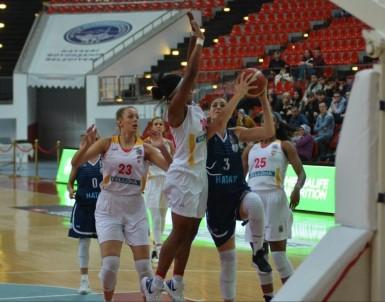 Kadınlar Basketbol Süper Ligi Açıklaması Kayseri Basketbol Açıklaması 77 - Hatay Büyükşehir Açıklaması 59