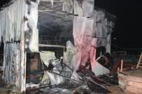 BEYKÖY - Düzce'de Tekstil Fabrikası Yandı