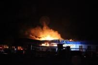 BEYKÖY - Otomotiv Yan Sanayi Fabrikasındaki Yangın Devam Ediyor