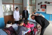 Ağrı Milli Eğitim Müdürü Tekin, Çatışma Yaşandığı Bölgedeki Okulu Ziyaret Etti