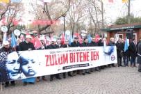 İŞKENCELER - Çin Zulmü Ankara'da Protesto Edildi