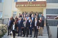 APOLLON TAPINAĞI - Didim'de Festivale Katkı Sağlayanlar Onurlandırıldı