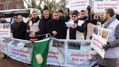 Hollanda'da Gambiya'nın Uluslararası Adalet Divanında Myanmara Karşı Açtığı Davaya Destek