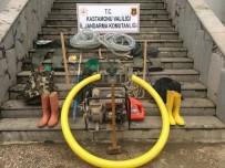 Kanyonda Kaçak Kazı Yapan 8 Kişi Suçüstü Yakalandı