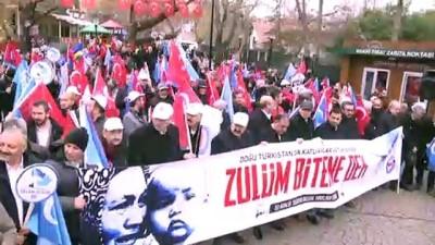 Memur-Sen'den Doğu Türkistan Protestosu