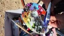 KAVACıK - Bedensel Engelli Ressamın Hayalini Anadolu Ajansı Ekibi Gerçekleştirdi