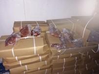 3 ARALıK - Çin'den Getirilen Kaçak 23 Ton Kuzu Ciğeri Yakalandı