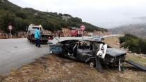 Isparta'da Otomobil İle Kamyonetin Çarpışması Sonucu Baba Ve Oğlu Öldü