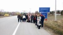 ADAY ÖĞRETMEN - Sungurlu'da Aday Öğretmenler Tarihi Yerleri Gezdi
