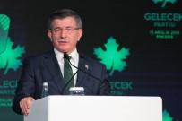 AYHAN SEFER ÜSTÜN - Ahmet Davutoğlu Yeni Kurulan Partiyi Tanıttı