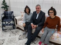 3 ARALıK - Başkan Turanlı'dan Engelli Kardeşlere Sürpriz Ziyaret