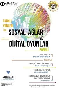 'Farklı Yönleri İle Sosyal Ağlar Ve Dijital Oyunlar' Paneli