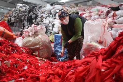 Tekstildeki Geri Dönüşümün Yüzde 85'Lik İhtiyacını Uşak Karşılıyor