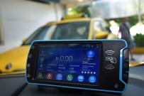 ULAŞıM KOORDINASYON MERKEZI - Yılbaşında Uygulama Başlıyor Açıklaması İzmir'de Taksilerde Dijital Devrim