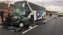 Kırşehir'de Feci Kaza Açıklaması 3 Ölü 1 Yaralı