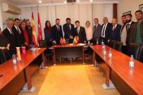 JUAN - SANKON'dan İspanya Krallığı Ankara Büyükelçisine Ziyaret