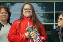 ANTALYA HAVALİMANI - Avrupa Şampiyonu Aleyna Kaymaz Açıklaması 'Hedefim Olimpiyat Birinciliği'