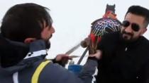 ÇıLDıR GÖLÜ - Çıldır Gölü'nde Atlı Kızak Keyfi Başladı
