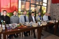BÜLENT ÖZ - Başkan Özcan, İnşaat Mühendisleri İle Dayanışma Ve Kaynaşma Kahvaltısında Buluştu