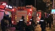 GAZ MASKESİ - Başkentte Eğlence Merkezinde Çıkan Yangın İtfaiye Ekiplerince Söndürüldü