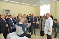 ORTEZ - Diz Altı Ampute Hastasına, Protez Takıldı