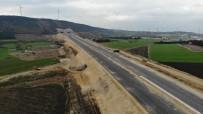 Kuzey Marmara Otoyolu'nun Çatalca Bağlantısı Havadan Görüntülendi