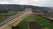 (Özel) Kuzey Marmara Otoyolu'nun Çatalca Bağlantısı Havadan Görüntülendi