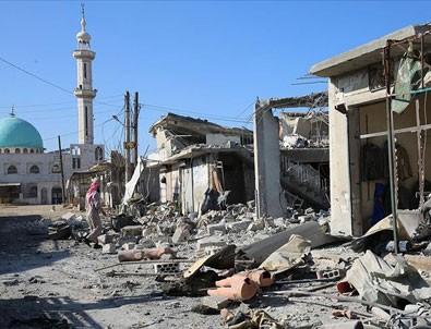 Esed rejimi İdlib'de sivil yerleşimleri vurdu: 12 ölü