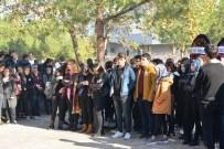 GÖKHAN GÖRGÜLÜARSLAN - Okul Müdürü Nevzat Saçı'yı Son Yolculuğuna Öğrencileri Gözyaşlarıyla Uğurlandı