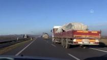 ARAZİ ARACI - Suriye Sınırına Arazi Aracı Ve Mühimmat Takviyesi