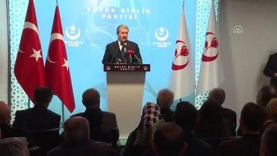 BBP Genel Başkanı Destici Açıklaması '(Doğu Akdeniz) Avrupa Birliği'nin Yaptığı Açıklamalar Bizi Bağlamaz'