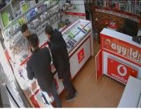 MECIDIYE - Cep Telefonu Hırsızlığı Güvenlik Kamerasında