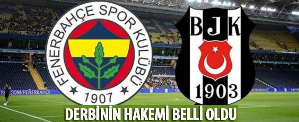 Fenerbahçe-Beşiktaş derbisini Cüneyt Çakır yönetecek